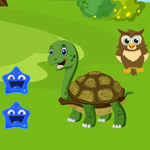 Green Turtle Rescue Games4King