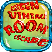 Green Vintage Room Escape Games4Escape