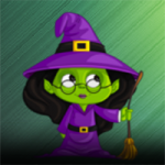 Green Witch Escape AmgelEscape