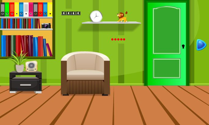 Greenish Home Escape Games 2 Jolly