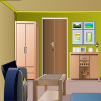 Greenish House Escape TollFreeGames