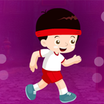 Grin Jogging Boy Escape Games4King