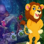 Grumpy Lion Escape Games4King