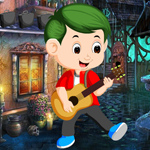 Guitar Boy Rescue Games4King
