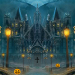 Halloween Abandoned Palace Escape 8BGames