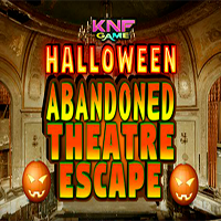 Halloween Abandoned Theater Escape KNFGames