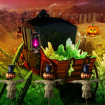 Halloween Forest Escape 8BGames