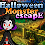 Halloween Monster Escape Games4King