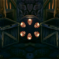 Halloween Pale Witch Escape 8BGames