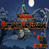 Halloween Pumpkin Cat Escape