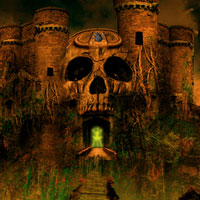 Halloween Runic Skull Point Escape Games2Rule