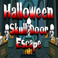 Halloween Skull Door Escape TollFreeGames