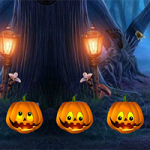 Halloween Treehouse Escape 8BGames