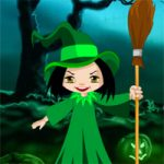 Halloween Witch Candy Bowl Escape Games2Rule