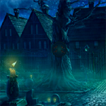 Halloween Witch Escape 8BGames