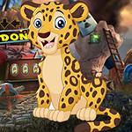 Hapless Leopard Escape Games4King