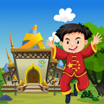 Happy Chinese Boy Rescue Games4King
