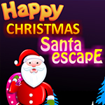 Happy Christmas Santa Escape Games4King