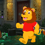 Happy Lion Rescue Games4King