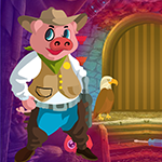 Happy Pig Escape Games4King