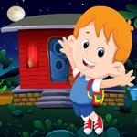 Happy School Boy Rescue Games4King