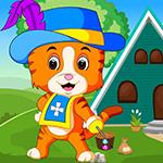 Hat Tiger Escape Games4King