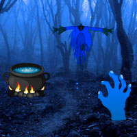 Haunted Forest Halloween Escape Games2Rule
