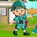Hiker Boy Rescue Games4King
