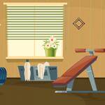 Home Gym Escape GenieFunGames