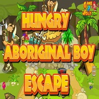 Hungry Aboriginal Boy Escape Games2Jolly