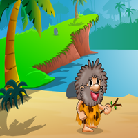Hungry Cave Man Escape 2 GoClicker