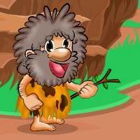 Hungry Cave Man Escape GamesClicker