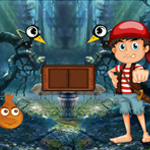 Hunter Boy Rescue Games4King