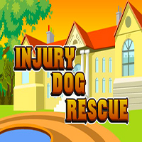 Injury Dog Rescue EscapeGamesToday