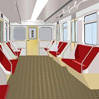 Inside Train Escape EightGames