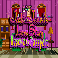 Jack And Jennie Love Story Rescue the Passport KNFGames