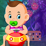 Jaunty Baby Rescue Games4King
