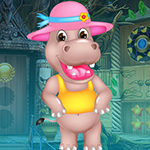 Jemmy Hippo Escape Games4King