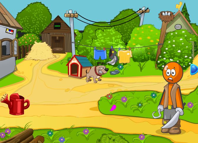 Jolly Boy Escape From Dog Games2Jolly