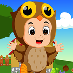 Jolly Owl Rescue Games4King