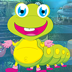Joyful Worm Escape Games4King