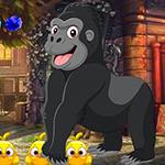 Jubilant Gorilla Escape Games4King