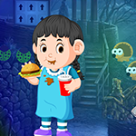 Juice Girl Rescue Games4King