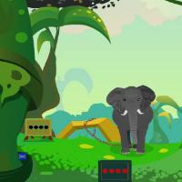 Jungle Elephant Escape EscapeGamesZone