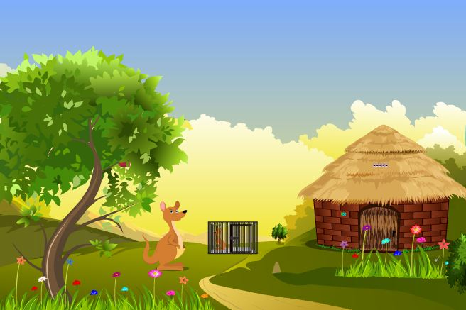 Kangaroo Baby Rescue Games2Jolly