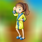 Karate Girl Escape AvmGames