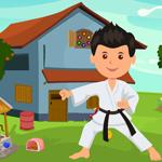 Karate Man Rescue Games4King