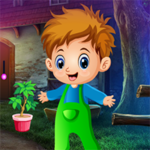 Kidnapped Cute Little Boy Rescue Games4King