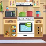 Kitchen Door Escape 2 GenieFunGames