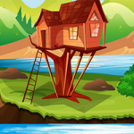 Lake Side Tree House Escape GenieFunGames